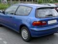 Caractéristiques techniques complètes et consommation de carburant de Honda Civic Civic V 1.6 16V Vtec (125 Hp)