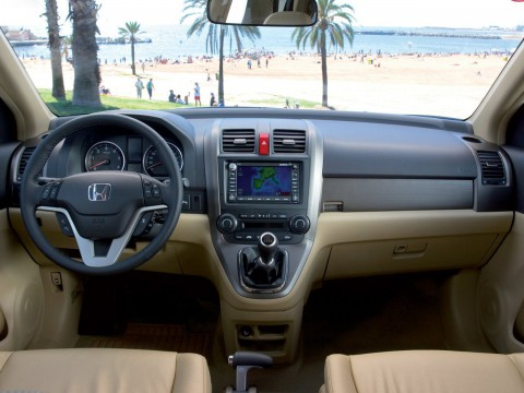 Technical specifications and characteristics for【Honda CR-V III】