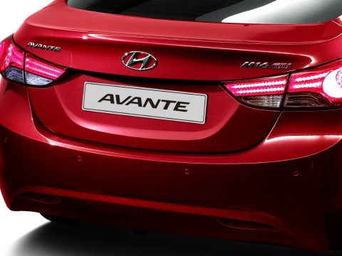 Technical specifications and characteristics for【Hyundai Avante】