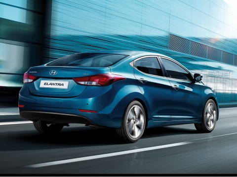 Technical specifications and characteristics for【Hyundai Elantra V Restyling】