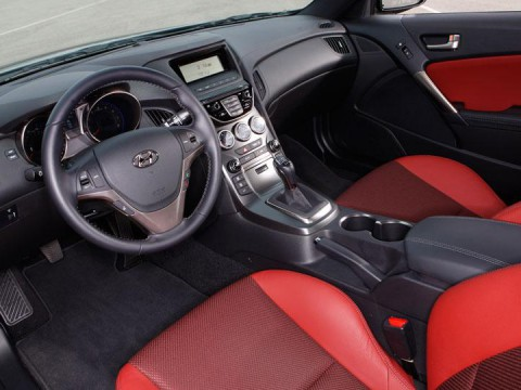Technical specifications and characteristics for【Hyundai Genesis Coupe】