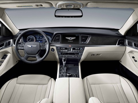 Technical specifications and characteristics for【Hyundai Genesis】