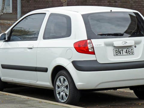 Technical specifications and characteristics for【Hyundai Getz】