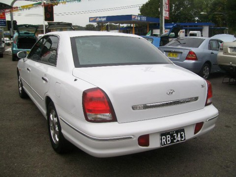 Technical specifications and characteristics for【Hyundai Grandeur III】