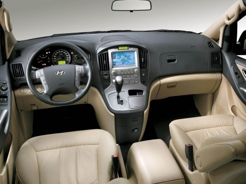 Technical specifications and characteristics for【Hyundai H-1 Starex】
