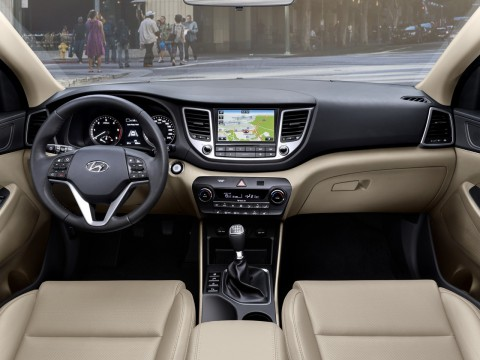 Technical specifications and characteristics for【Hyundai Tucson III】