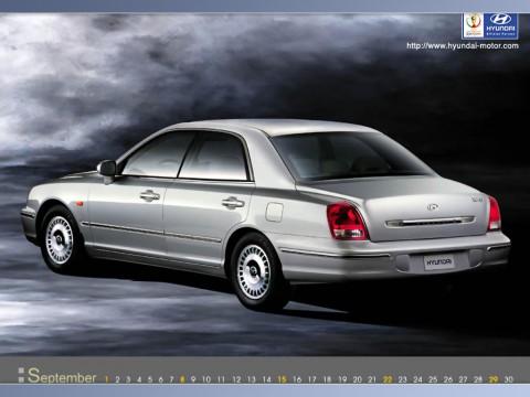 Caractéristiques techniques de Hyundai XG