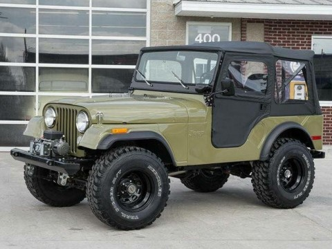 Technical specifications and characteristics for【Jeep CJ5 - CJ8】