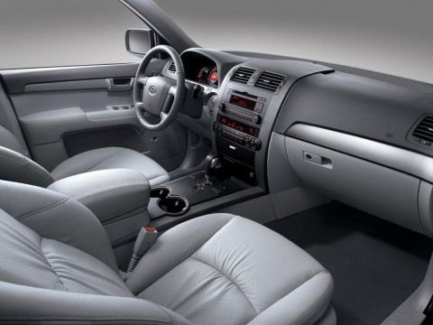 Technical specifications and characteristics for【Kia Mohave】
