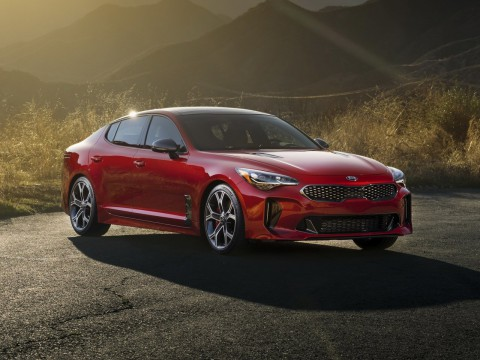 Technical specifications and characteristics for【Kia Stinger I】
