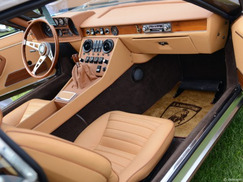 Technical specifications and characteristics for【Lamborghini Espada】