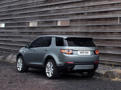 Technical specifications and characteristics for【Land Rover Discovery Sport】