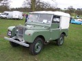 Especificaciones técnicas del coche y ahorro de combustible de Land Rover Series I