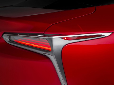 Technical specifications and characteristics for【Lexus LC cupe】