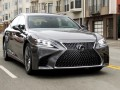 Technical specifications of the car and fuel economy of Lexus LS