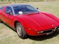 Technische Daten von Fahrzeugen und Kraftstoffverbrauch Maserati Bora