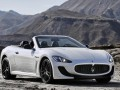 Technical specifications of the car and fuel economy of Maserati GranCabrio