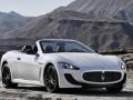 Technische Daten von Fahrzeugen und Kraftstoffverbrauch Maserati GranCabrio