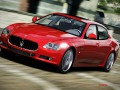 Technical specifications of the car and fuel economy of Maserati Quattroporte