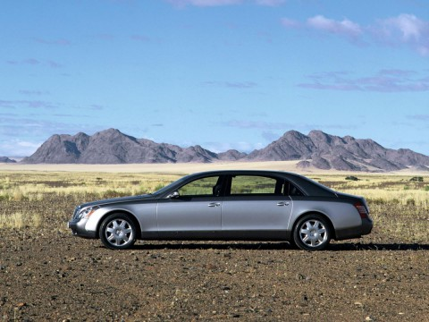 Technical specifications and characteristics for【Maybach Maybach 62】