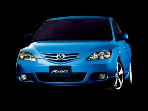 Technical specifications and characteristics for【Mazda Axela】