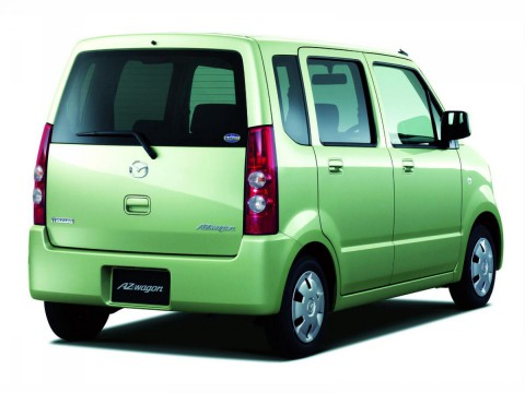 Technical specifications and characteristics for【Mazda Az-wagon II】