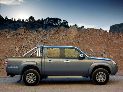 Technical specifications and characteristics for【Mazda BT-50】