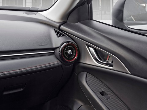 Technical specifications and characteristics for【Mazda CX-3】