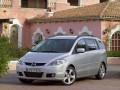 Пълни технически характеристики и разход на гориво за Mazda Mazda 5 Mazda 5 1.8 i 16V MZR (116)