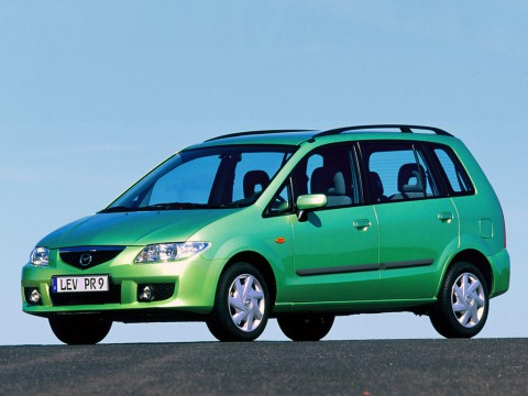 Technical specifications and characteristics for【Mazda Premacy (CP)】