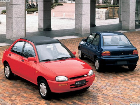 Technical specifications and characteristics for【Mazda Revue】