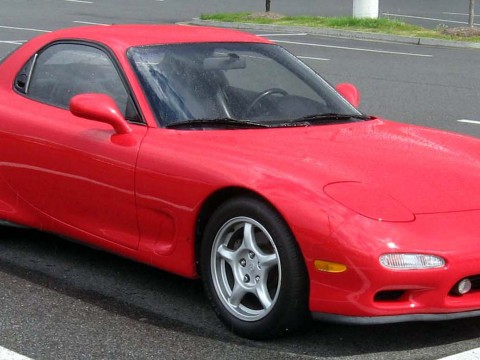 Technical specifications and characteristics for【Mazda RX 7 IV】
