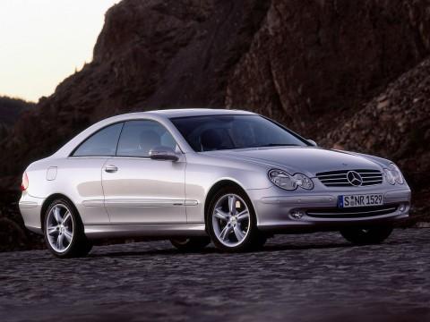 Технически характеристики за Mercedes-Benz CLK-klasse II (W209)