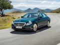 Technical specifications of the car and fuel economy of Mercedes-Benz E-klasse