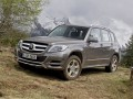 Technical specifications of the car and fuel economy of Mercedes-Benz GLK-klasse