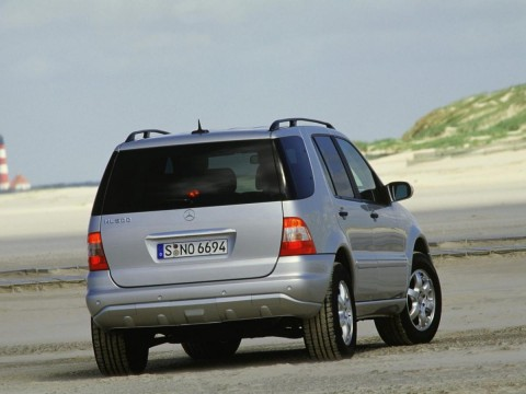 Technical specifications and characteristics for【Mercedes-Benz M-klasse (W163)】