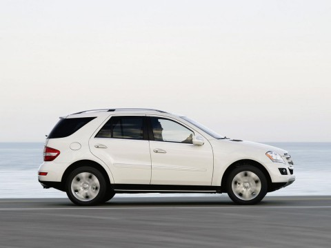 Technical specifications and characteristics for【Mercedes-Benz M-klasse (W164)】