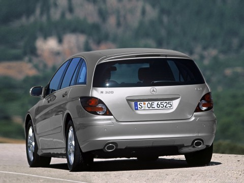 Technical specifications and characteristics for【Mercedes-Benz R-klasse I】