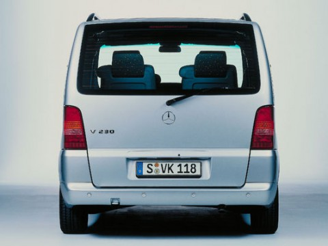 Technical specifications and characteristics for【Mercedes-Benz V-klassen (638)】