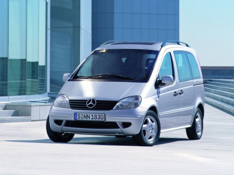 Technical specifications and characteristics for【Mercedes-Benz Vaneo (W414)】