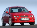 Technical specifications of the car and fuel economy of MG ZR