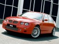 Technical specifications of the car and fuel economy of MG ZT