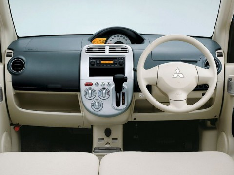 Technical specifications and characteristics for【Mitsubishi EK Wagon】