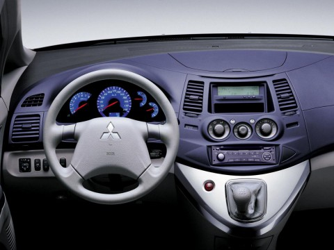 Technical specifications and characteristics for【Mitsubishi Grandis】
