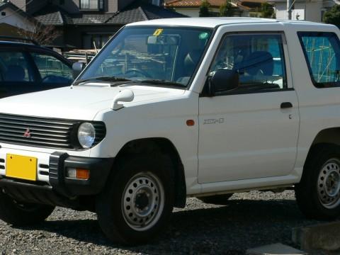 Especificaciones técnicas de Mitsubishi Pajero Mini
