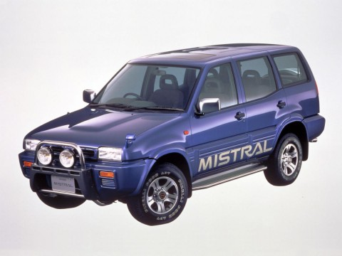 Technical specifications and characteristics for【Nissan Mistral (R20)】