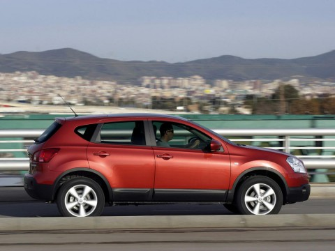 Technical specifications and characteristics for【Nissan Qashqai】
