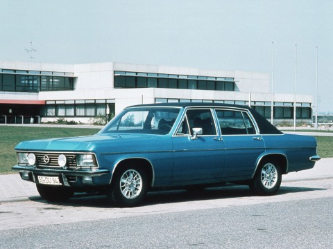Technical specifications and characteristics for【Opel Admiral B】