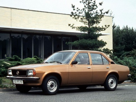 Technical specifications and characteristics for【Opel Ascona B】