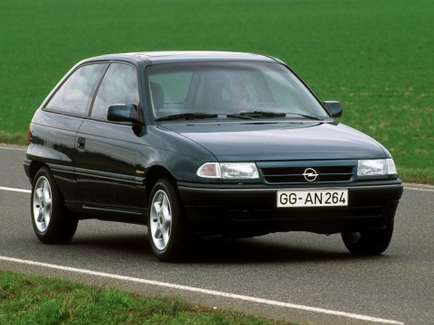 Technical specifications and characteristics for【Opel Astra F CC】